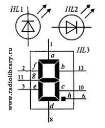 Как обозначается светодиод на схеме