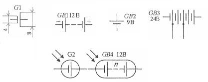 G1 обозначение на схеме