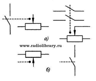 Условное обозначение реостата на схеме